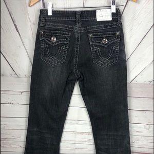 3/$25 L.A. idol Black Jeans Size 7